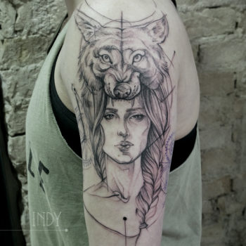Tattoo Indy Saki